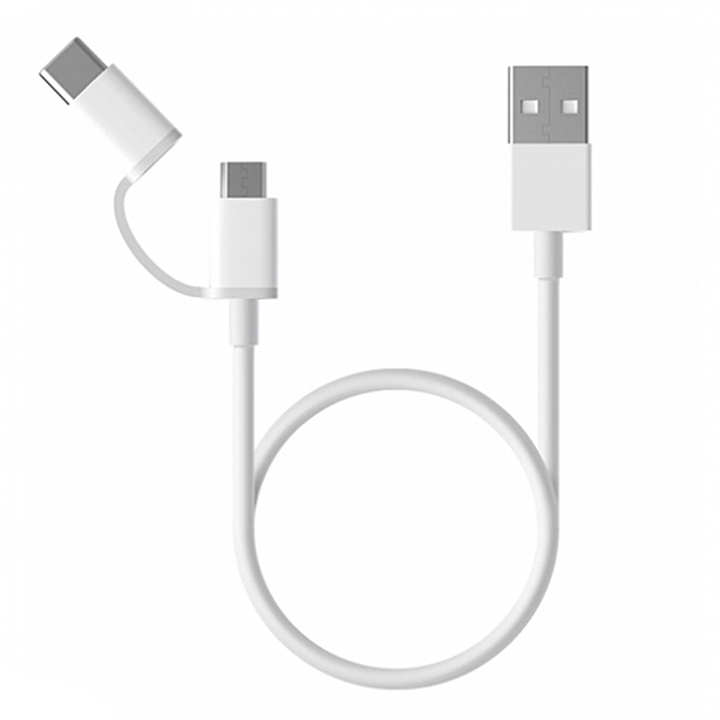 Mi 2 in1 USB cable - 30 cm